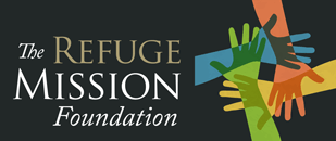 The Refuge Mission Foundation Black Logo