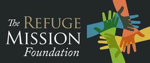 The Refuge Mission Foundation Black Logo
