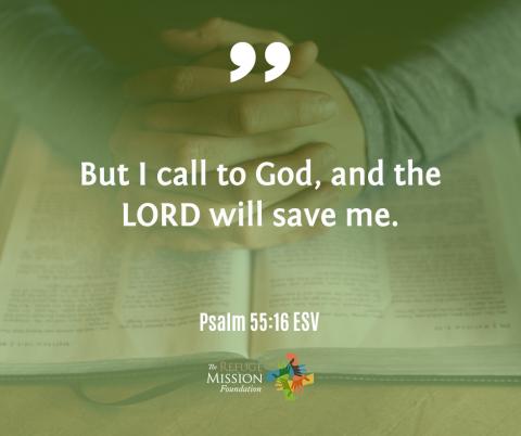 Psalm 55:16